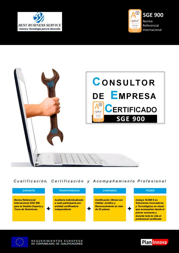 Programas de Certificación en Gestión Experta de Empresa y Toma de Decisiones